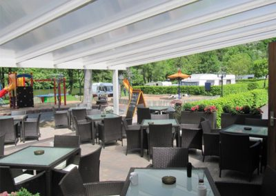 Overkapping camping Lahnstein (D)